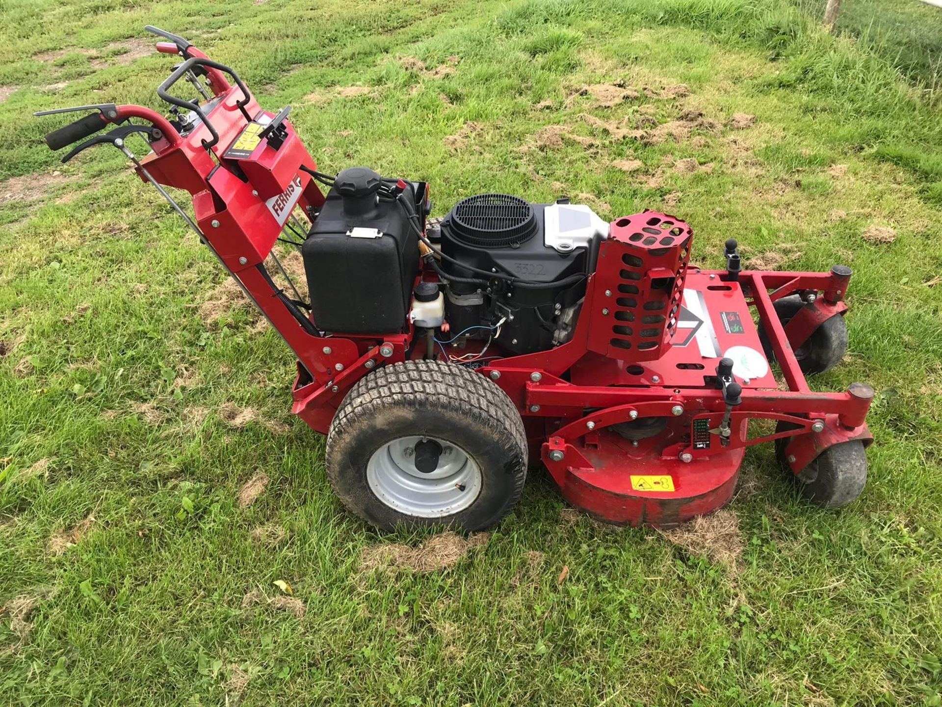 "Lot 55 - FERRIS 36"" WALK BEHIND MOWER, MODEL 5900541, KAWASAKI ENGINE, YEAR 2012, READY FOR WORK *PLUS VAT*"