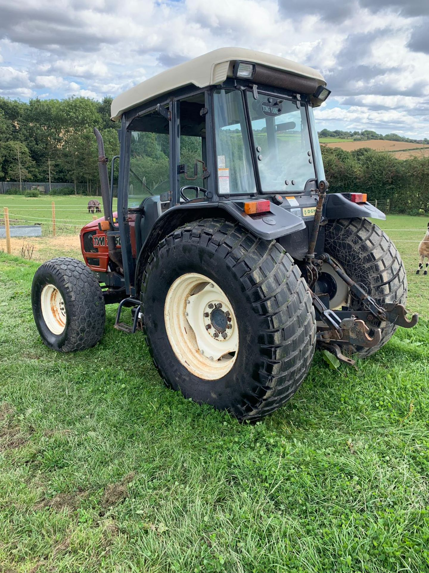Lot 35 - TYM T550 COMPACT TRACTOR WITH CAB, RUNS AND WORKS, SHOWING 2219 HOURS (UNVERIFIED) *PLUS VAT*