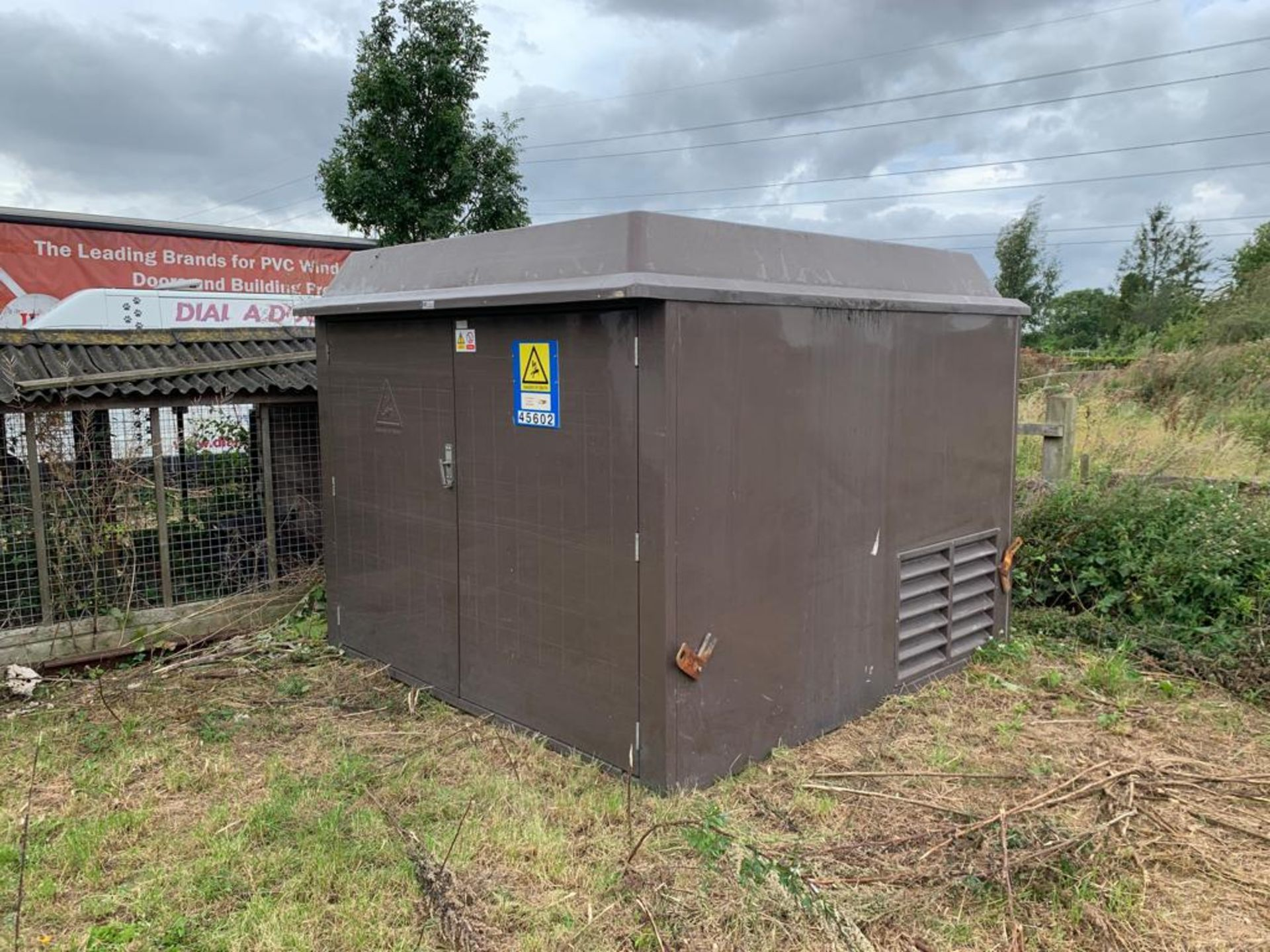 Lot 29 - FORMER ELECTRICITY SUB-STATION FIBREGLASS TRANSFORMER HOUSING TR7, UP TO 8 AVAILABLE