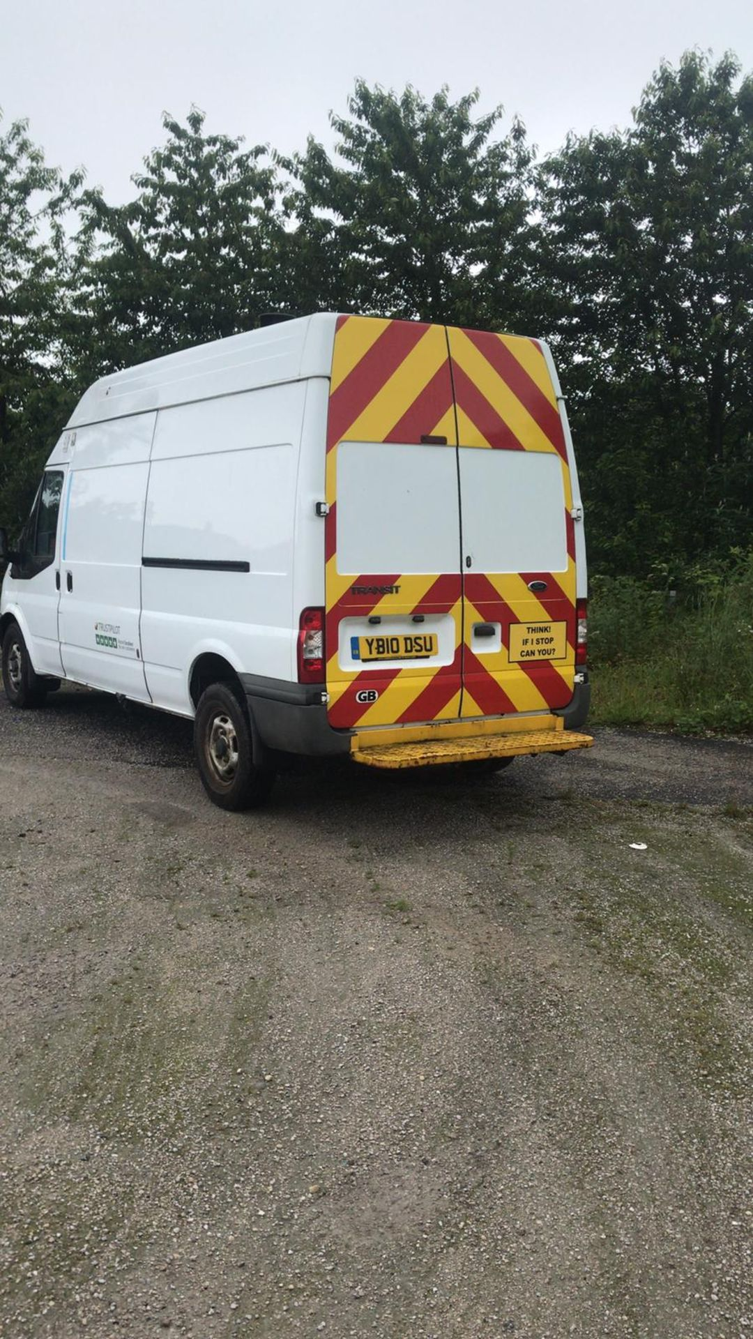 Lot 68 - 2010/10 REG FORD TRANSIT 115 T350L RWD 2.4 DIESEL WHITE PANEL VAN, SHOWING 3 FORMER KEEPERS *NO VAT*