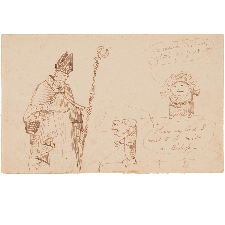 Edward Lear (attrib.), drawing, ex. Ford Found.