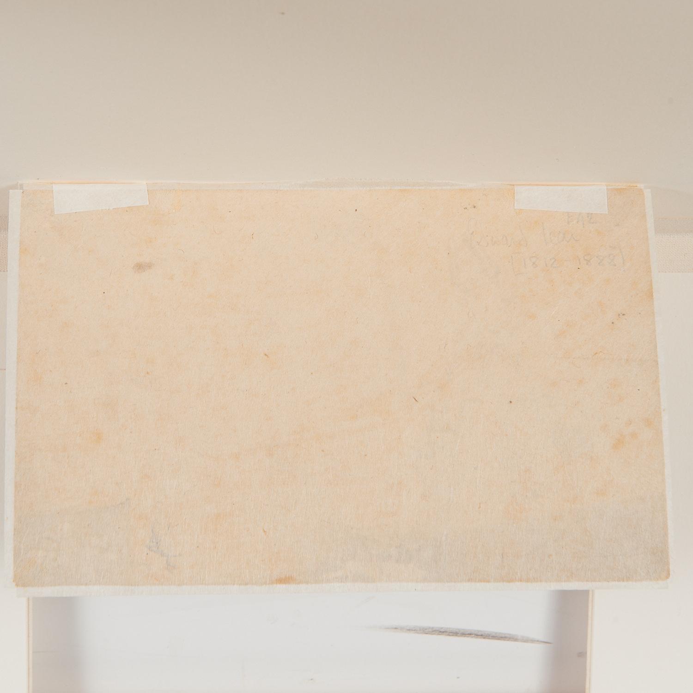 Edward Lear (attrib.), drawing, ex. Ford Found. - Image 4 of 7