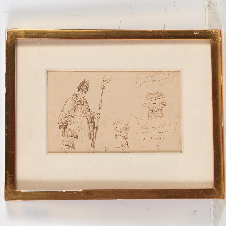 Edward Lear (attrib.), drawing, ex. Ford Found. - Image 7 of 7