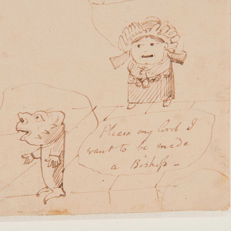Edward Lear (attrib.), drawing, ex. Ford Found. - Image 3 of 7