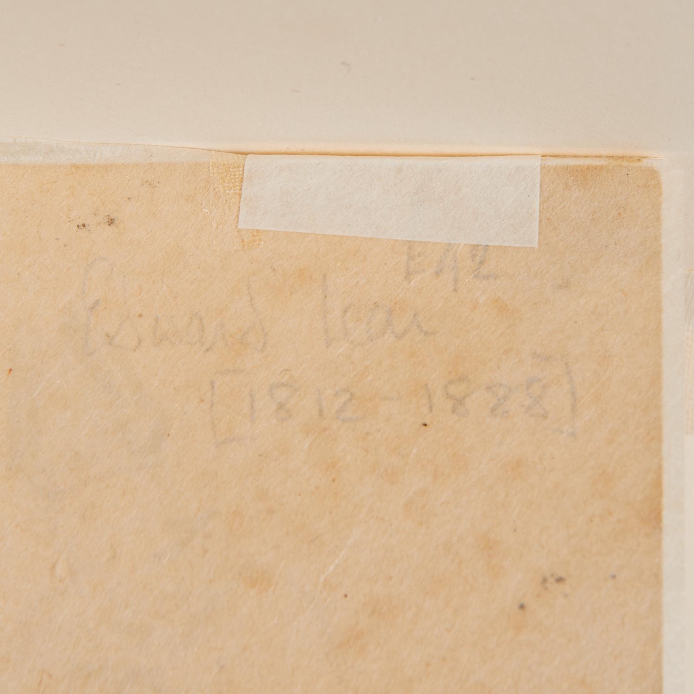 Edward Lear (attrib.), drawing, ex. Ford Found. - Image 5 of 7