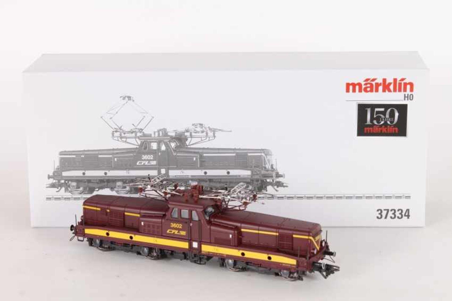 """Märklin 37334, Elektrolok """"3602"""" der CFLMärklin 37334, Elektrolok """"3602"""" der CFL, fx-Digital-*-"""