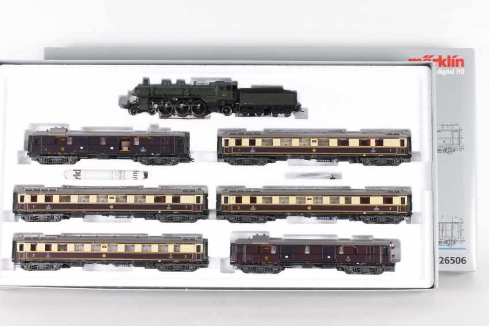 """Märklin 26506, Zugpackung """"Rheingold""""Märklin 26506, Zugpackung """"Rheingold"""", Dampflok """"18 434"""","""