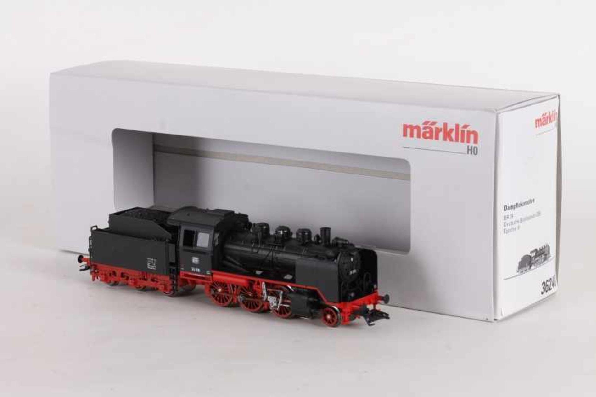 """Los 1040 - Märklin 36240, Dampflok """"24 016"""" der DBMärklin 36240, Dampflok """"24 016"""" der DB, fx-Digital-"""