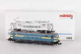 """Märklin 3363, Elektrolok """"1606"""" der SNCBMärklin 3363, Elektrolok """"1606"""" der SNCB, umgebaut mit"""
