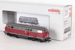 """Märklin 37740, Diesellok """"216 006-7"""" der DBMärklin 37740, Diesellok """"216 006-7"""" der DB, mfx-"""