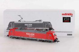 """Märklin 36600, Elektrolok 185 260-7"""" """"RAILION"""" der DB-AG LogisticsMärklin 36600, Elektrolok 185"""