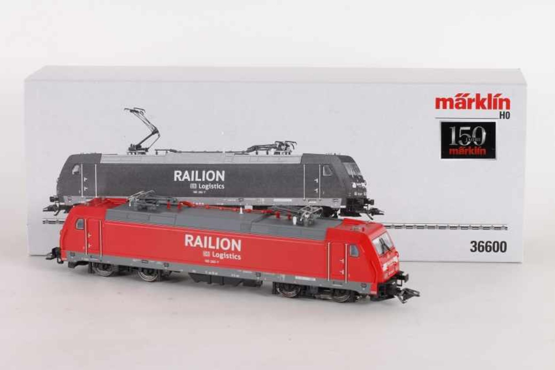 """Los 1044 - Märklin 36600, Elektrolok 185 260-7"""" """"RAILION"""" der DB-AG LogisticsMärklin 36600, Elektrolok 185"""
