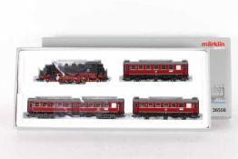 """Märklin 26508, Zugpackung """"Nahverkehr""""Märklin 26508, Zugpackung """"Nahverkehr"""", Tenderlok """"086 521-"""