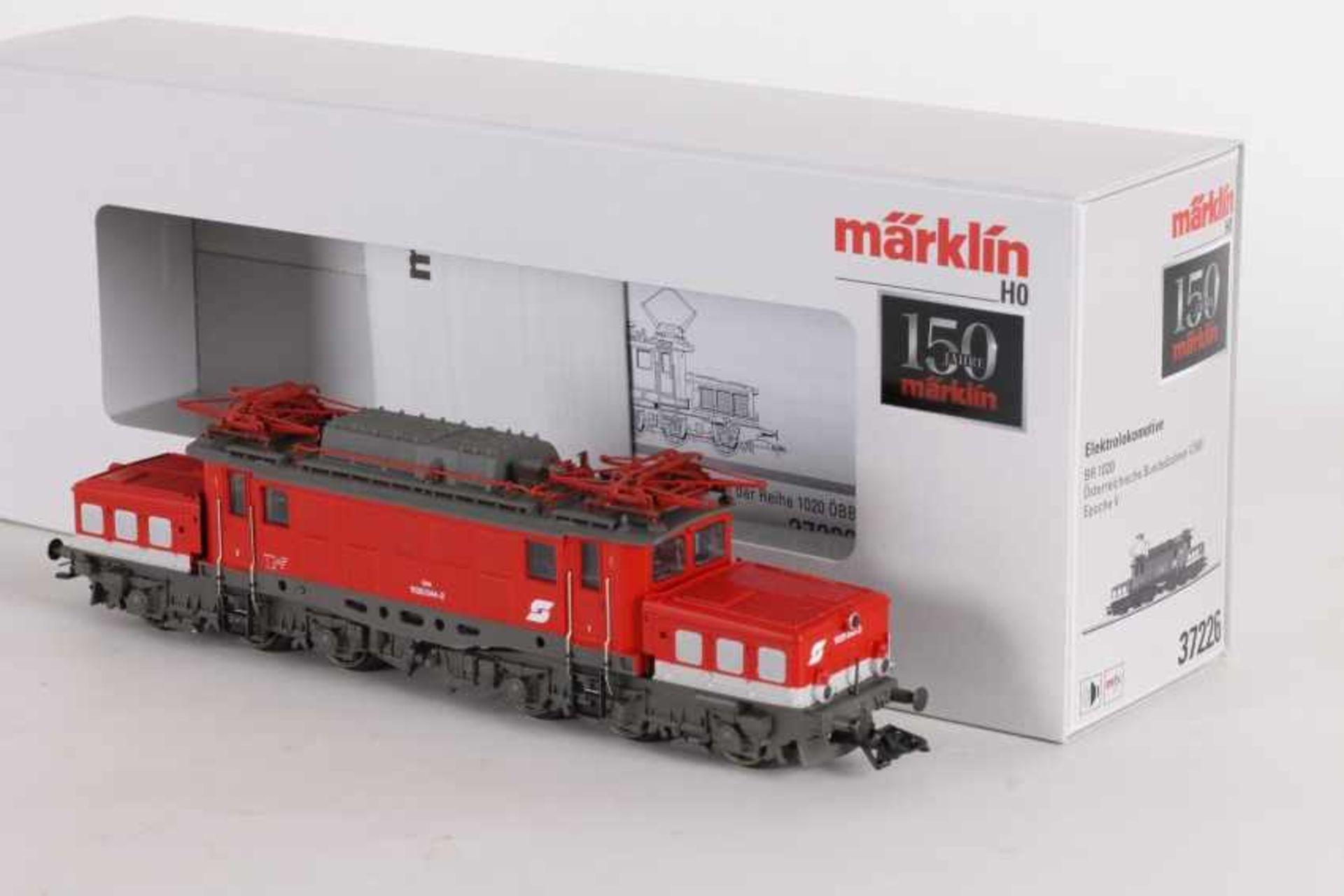 """Los 1054 - Märklin 37226, Elektrolok """"1020 044-2"""" der ÖBBMärklin 37226, Elektrolok """"1020 044-2"""" der ÖBB, mfx-"""