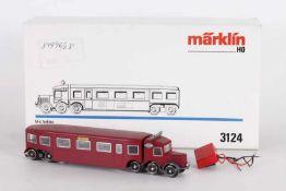 """Märklin 3124, """"MICHELIN"""" Triebwagen der SNCFMärklin 3124, """"MICHELIN"""" Triebwagen der SNCF, umgebaut"""