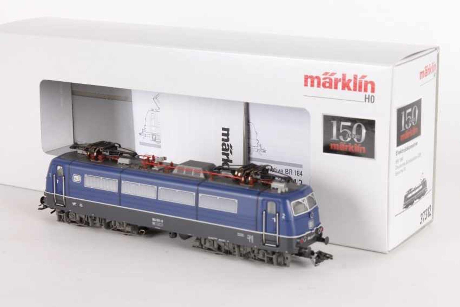 """Märklin 37312, Elektrolok """"184 001-6"""" der DBMärklin 37312, Elektrolok """"184 001-6"""" der DB, fx-"""