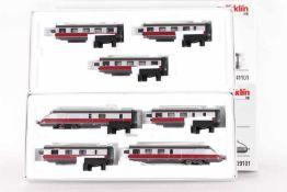 """Märklin 39101 und 41101, siebenteiliger Dieseltriebwagenzug """"Senator"""" der DBMärklin 39101 und 41101,"""