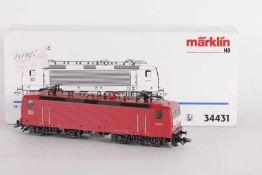 """Märklin 34431, Elektrolok """"143 007-3"""" der DB-AGMärklin 34431, Elektrolok """"143 007-3"""" der DB-AG,"""
