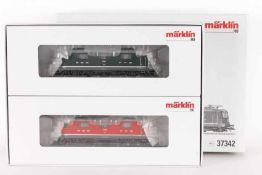 Märklin 37342, Doppelpackung mit zwei Elektroloks Re 4/4 der SBBMärklin 37342, Doppelpackung mit