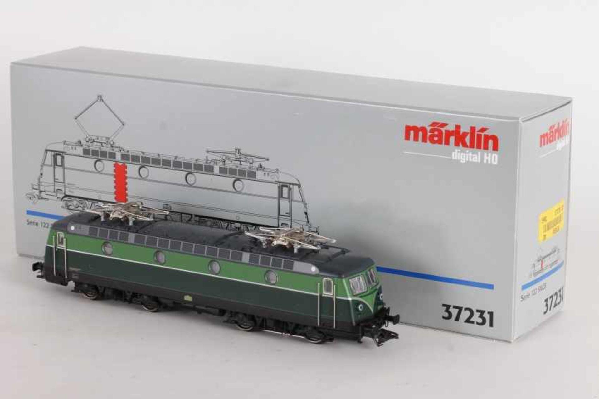 """Los 1056 - Märklin 37231, Elektrolok """"122028"""" der SNCBMärklin 37231, Elektrolok """"122028"""" der SNCB, fx-"""