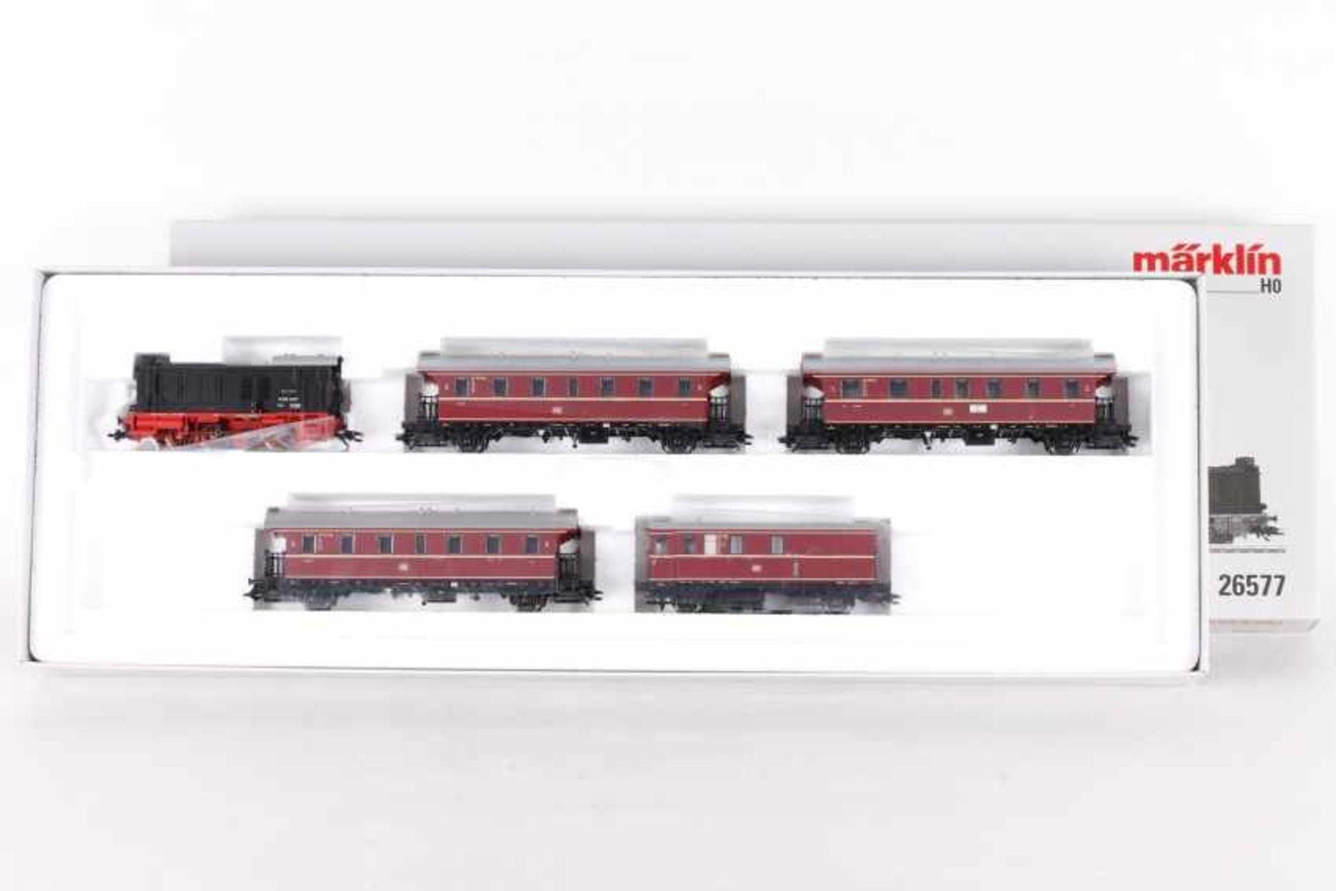 "Märklin 26577, Zugpackung ""Nahverkehr""Märklin 26577, Zugpackung ""Nahverkehr"", Diesellok ""V 36 237"""