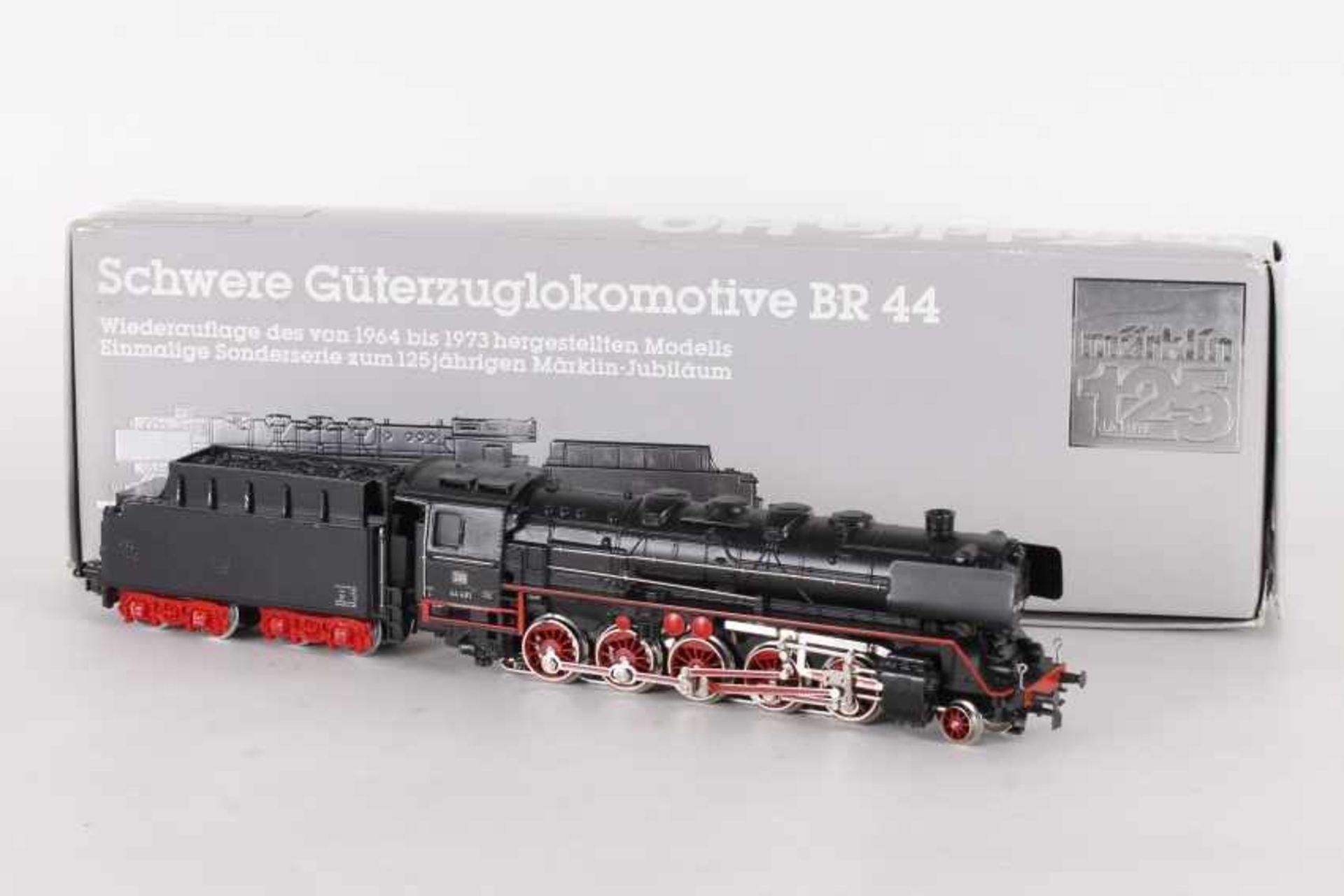 """Los 1010 - Märklin 3108, Dampflok """"44 481"""" der DBMärklin 3108, Dampflok """"44 481"""" der DB, umgebaut mit Digital-"""