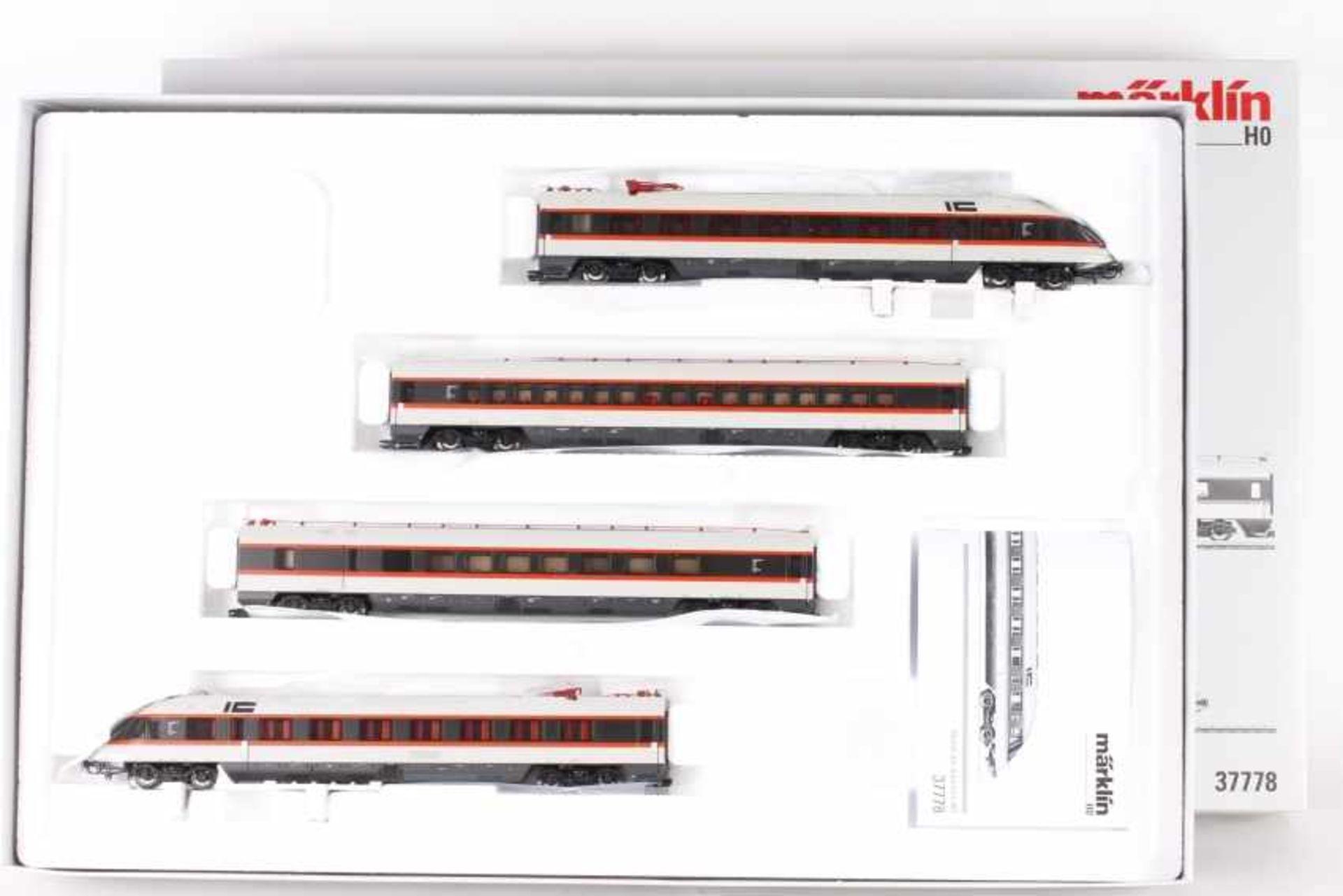Märklin 37778, vierteiliger Schnelltriebwagen BR 403 der DBMärklin 37778, vierteiliger