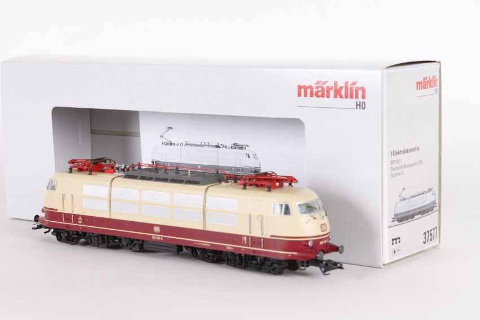 """Märklin 37577, Elektrolok """"103 128-5"""" der DBMärklin 37577, Elektrolok """"103 128-5"""" der DB, mfx-"""