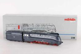 """Märklin 3791, Stromlinien-Dampflok """"03 1056"""" der DRGMärklin 3791, Stromlinien-Dampflok """"03 1056"""" der"""