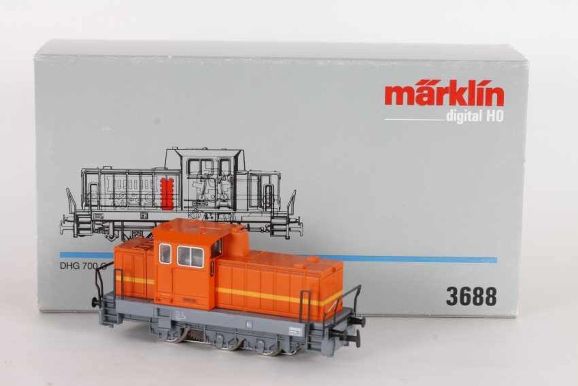 Los 1027 - Märklin 3688, Henschel Diesellok DHG 700 CMärklin 3688, Henschel Diesellok DHG 700 C, Digital-