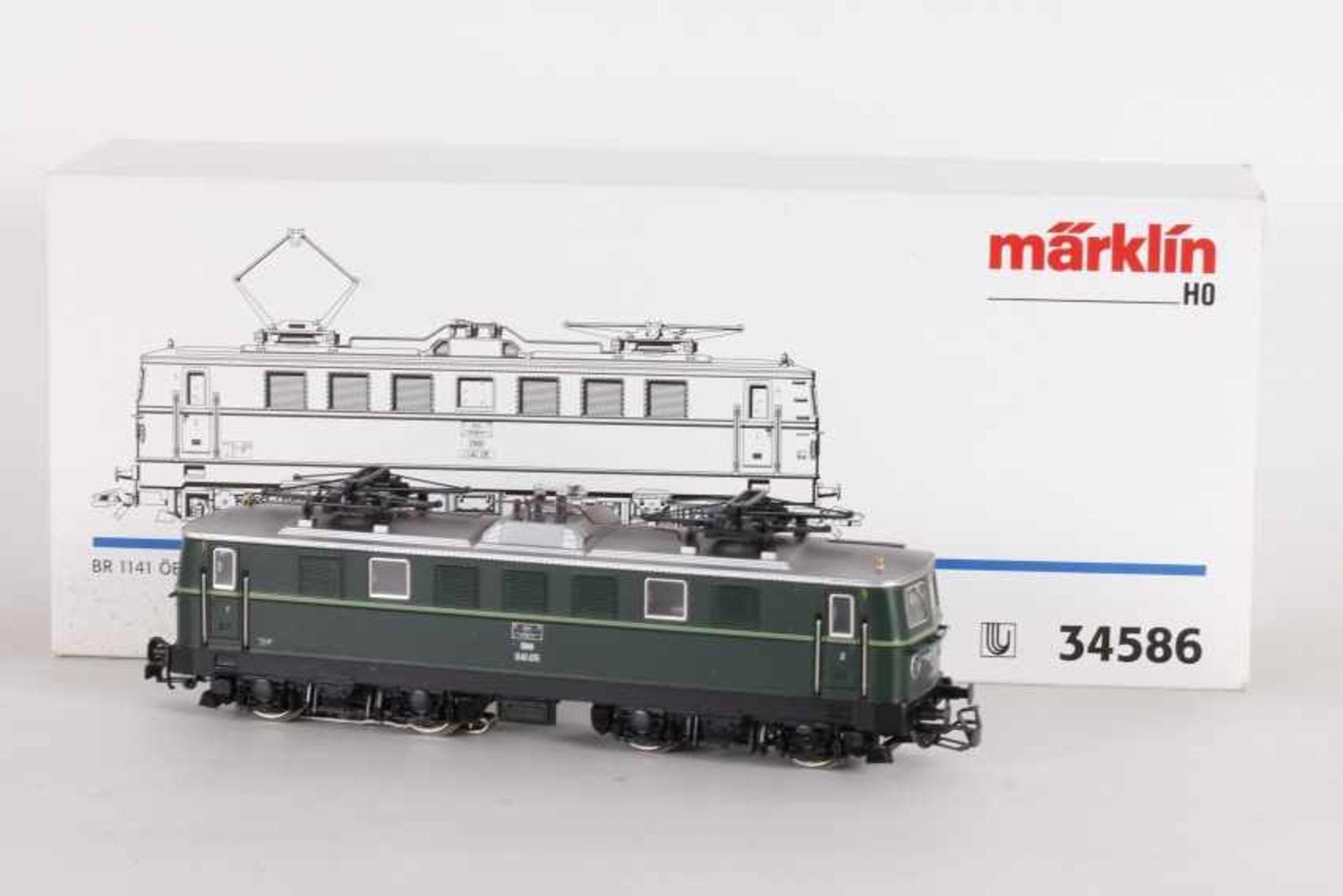 """Los 1017 - Märklin 34586, Eektrolok """"1141.05"""" der ÖBBMärklin 34586, Elektrolok """"1141.05"""" der ÖBB, umgerüstet"""