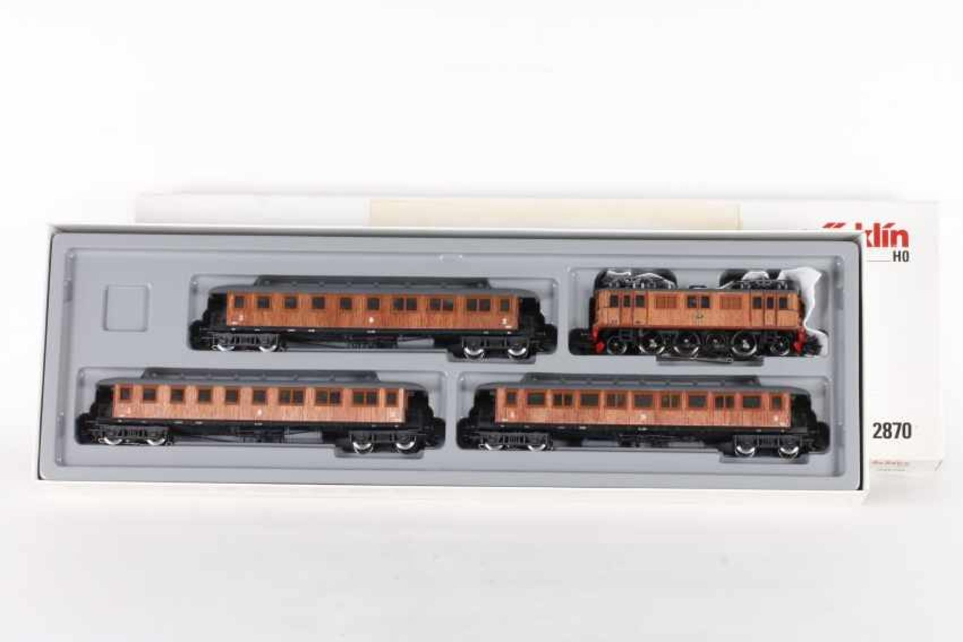 Los 1019 - Märklin 2870, Historischer Schnellzug der SJMärklin 2870, Historischer Schnellzug der SJ, Elektrolok