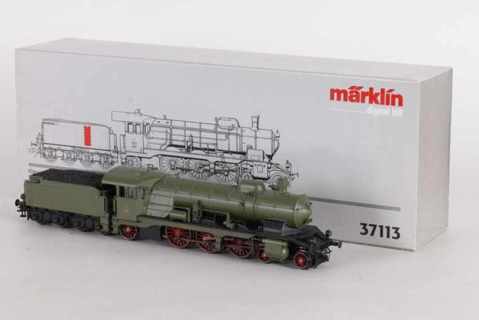 """Los 1052 - Märklin 37113, württ. Dampflok Klasse C """"2010""""fMärklin 37113, württ. Dampflok Klasse C """"2010"""","""
