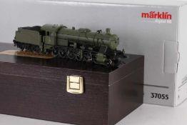 """Märklin 37055, württ. Dampflok Reihe K """"1802""""Märklin 37055, württ. Dampflok Reihe K """"1802"""", mfx-"""