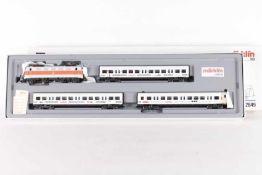 "Märklin 2849, S-Bahn-Zug ""Märklin""Märklin 2849, S-Bahn-Zug ""Märklin"", Elektrolok ""141 437-4"", drei"