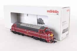 """Märklin 37676, Diesellok """"Mv 1134"""" der DSBMärklin 37676, Diesellok """"Mv 1134"""" der DSB, mfx-"""