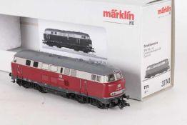 """Märklin 37741, Diesellok """"V 160 004"""" der DBMärklin 37741, Diesellok """"V 160 004"""" der DB, mfx-"""