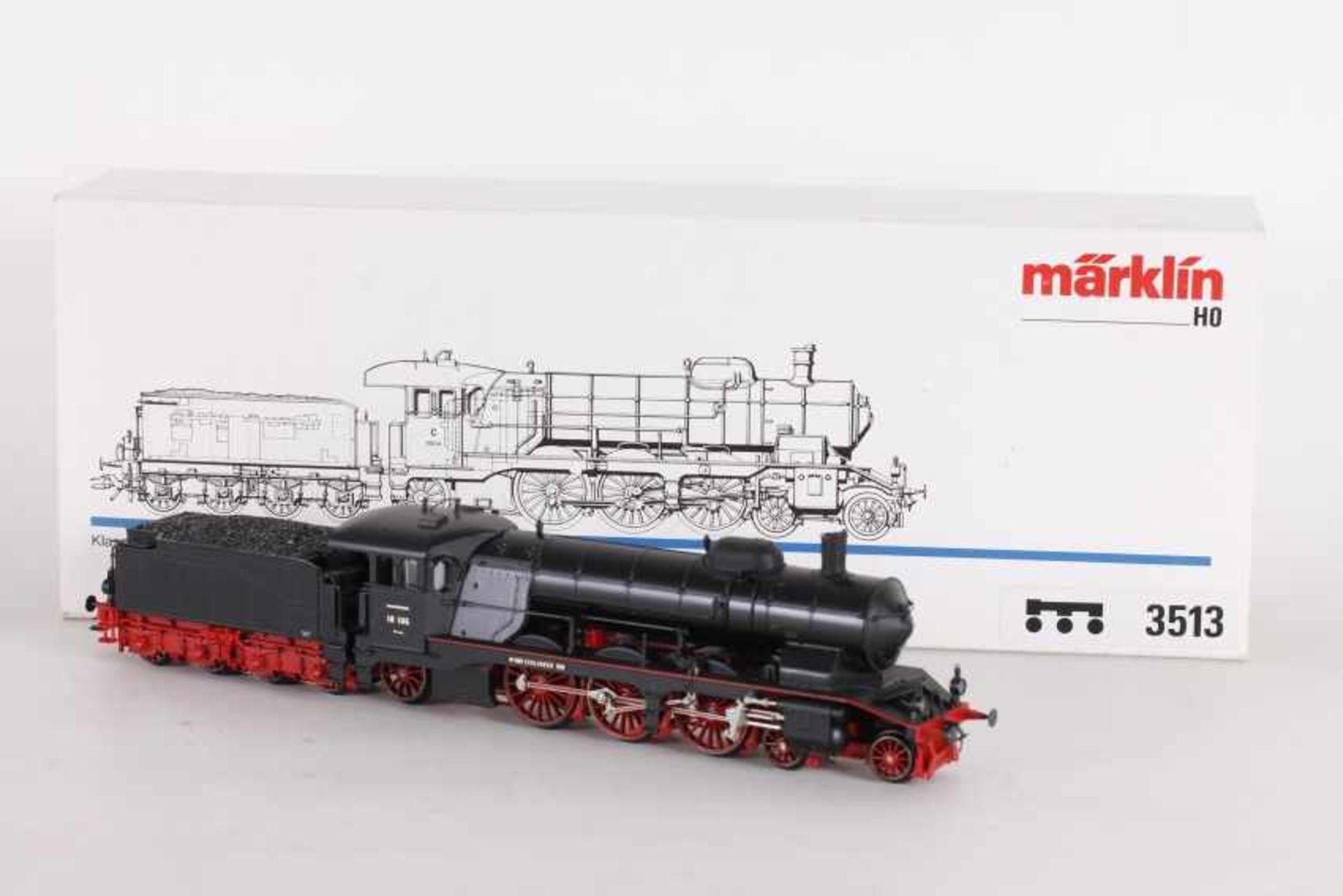"""Los 1036 - Märklin 3513, Dampflok """"18 106"""" der DRGMärklin 3513, Dampflok """"18 106"""" der DRG, umgerüstet mit"""
