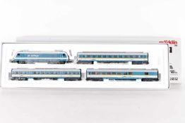 "Märklin 26552, Zugpackung ""ALEX""Märklin 26552, Zugpackung ""ALEX"", Elektrolok ""223 071-2"", drei"