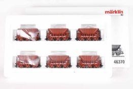 Märklin 46370, Erzwagen-SetMärklin 46370, Erzwagen-Set, sechs Wagen der SJ, sehr gut erhalten, ORK