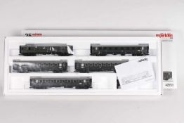 Märklin 42259, Schnellzugwagen-SetMärklin 42259, Schnellzugwagen-Set, fünf DB Wagen, sehr gut