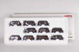 Märklin 46030, Kohlenwagen-Zug der frühen 50er JahreMärklin 46030, Kohlenwagen-Zug der frühen 50er