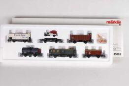 """Märklin 45102, Güterwagen-Set """"Geislinger Steige""""Märklin 45102, Güterwagen-Set """"Geislinger"""