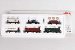 """Märklin 45101, Güterwagen-Set """"Geislinger Steige""""Märklin 45101, Güterwagen-Set """"Geislinger"""