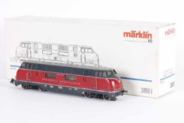 """Märklin 3021, Diesellok """"V 200 006"""" der BundesbahnMärklin 3021, Diesellok """"V 200 006"""" der"""