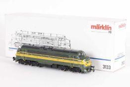 """Märklin 3133, Diesellok """"5401"""" der SNCBMärklin 3133, Diesellok """"5401"""" der SNCB, analog,"""