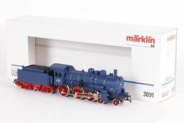 """Märklin 3091, Dampflok """"P8.1164"""" der bad. StaatsbahnMärklin 3091, Dampflok """"P8.1164"""" der bad."""