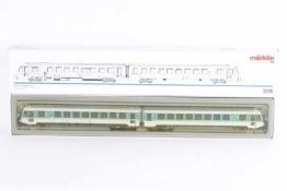 """Märklin 3376, Nahverkehrs-Dieseltriebwagenzug """"628 203-2"""" der DBMärklin 3376, Nahverkehrs-"""