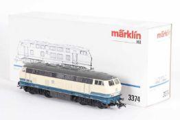 """Märklin 3374, Diesellok """"216 188-3"""" der DBMärklin 3374, Diesellok """"216 188-3"""" der DB, analog,"""