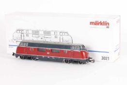 """Märklin 3021, Diesellok """"V 200 060"""" der DBMärklin 3021, Diesellok """"V 200 060"""" der DB, analog,"""